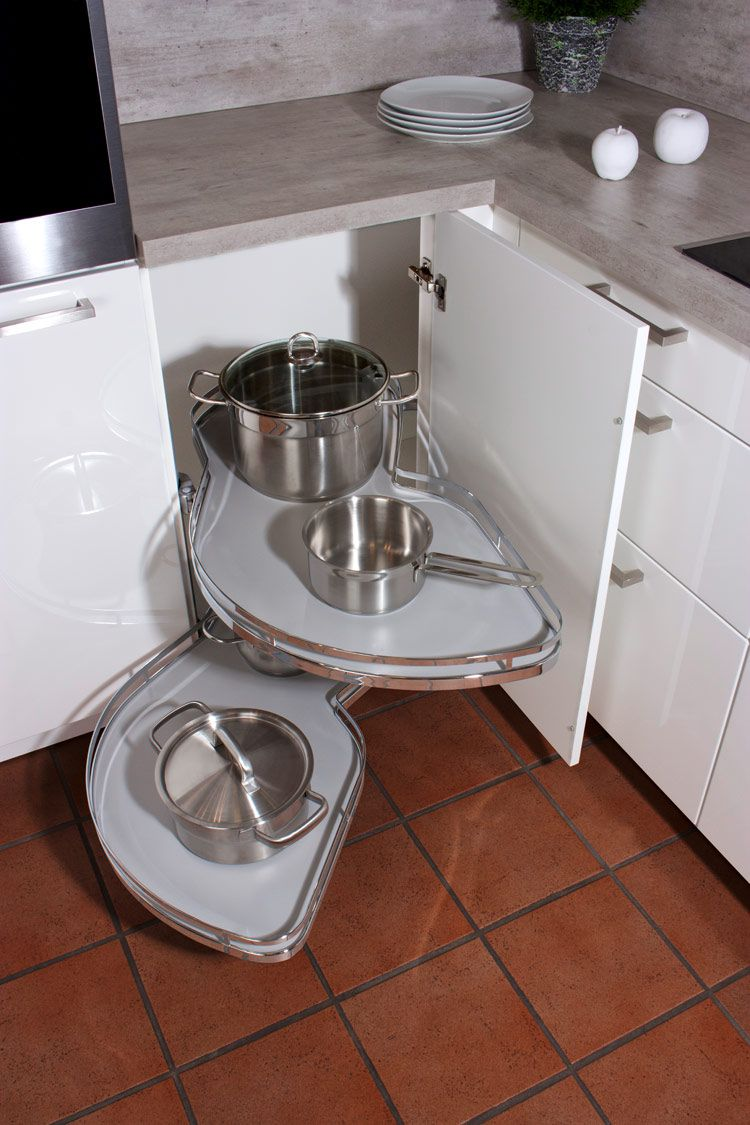 eckschrank küche - küche kaufen küchenstudio küchenplaner ... - Eckschrank Küche Karussell